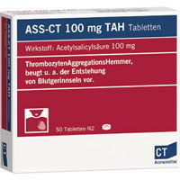 ASS 100 von CT TAH Tabletten.