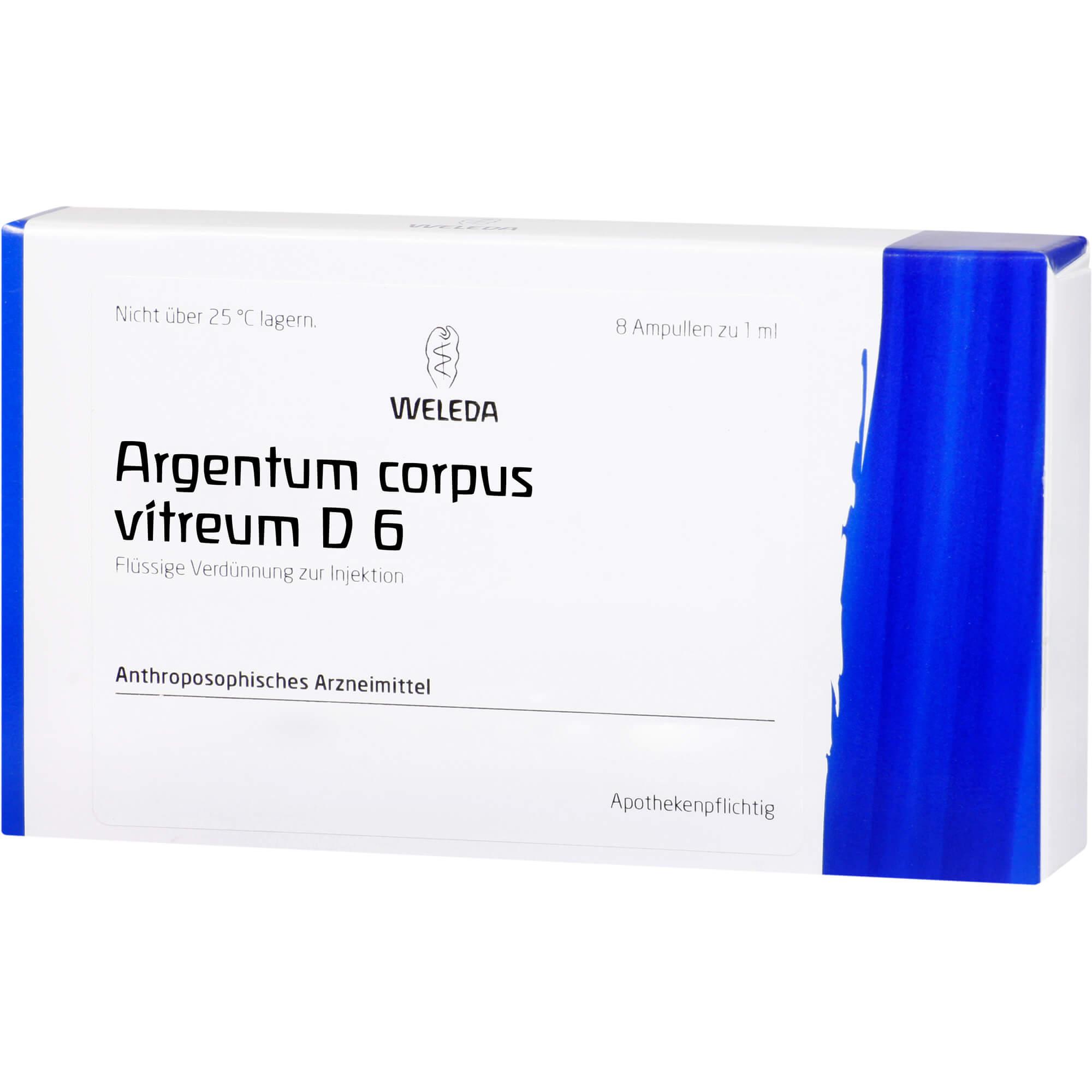 ARGENTUM CORP VIT D 6, 8X1 ml | Arzneimittel-Datenbank