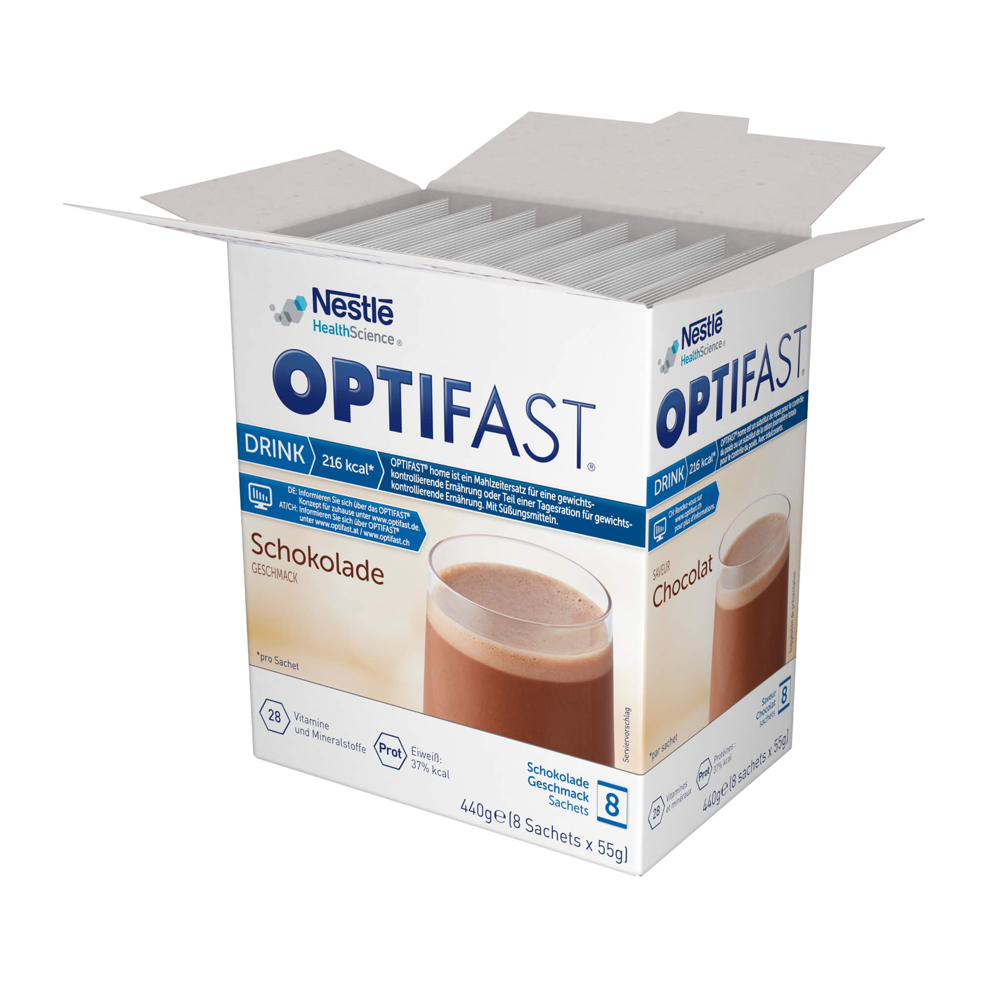 Optifast home Drink Schokolade Pulver