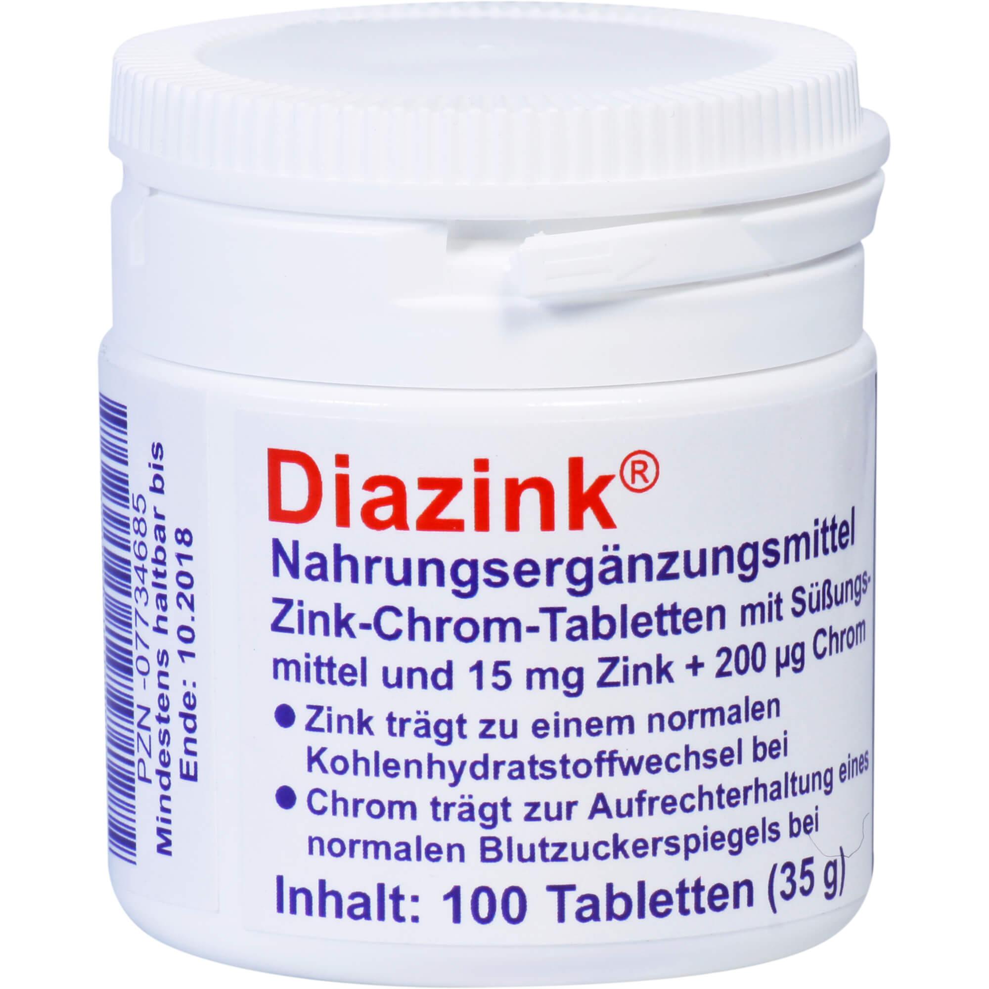 Zink bei Diabetes mellitus für bessere Blutzucker-Spiegel