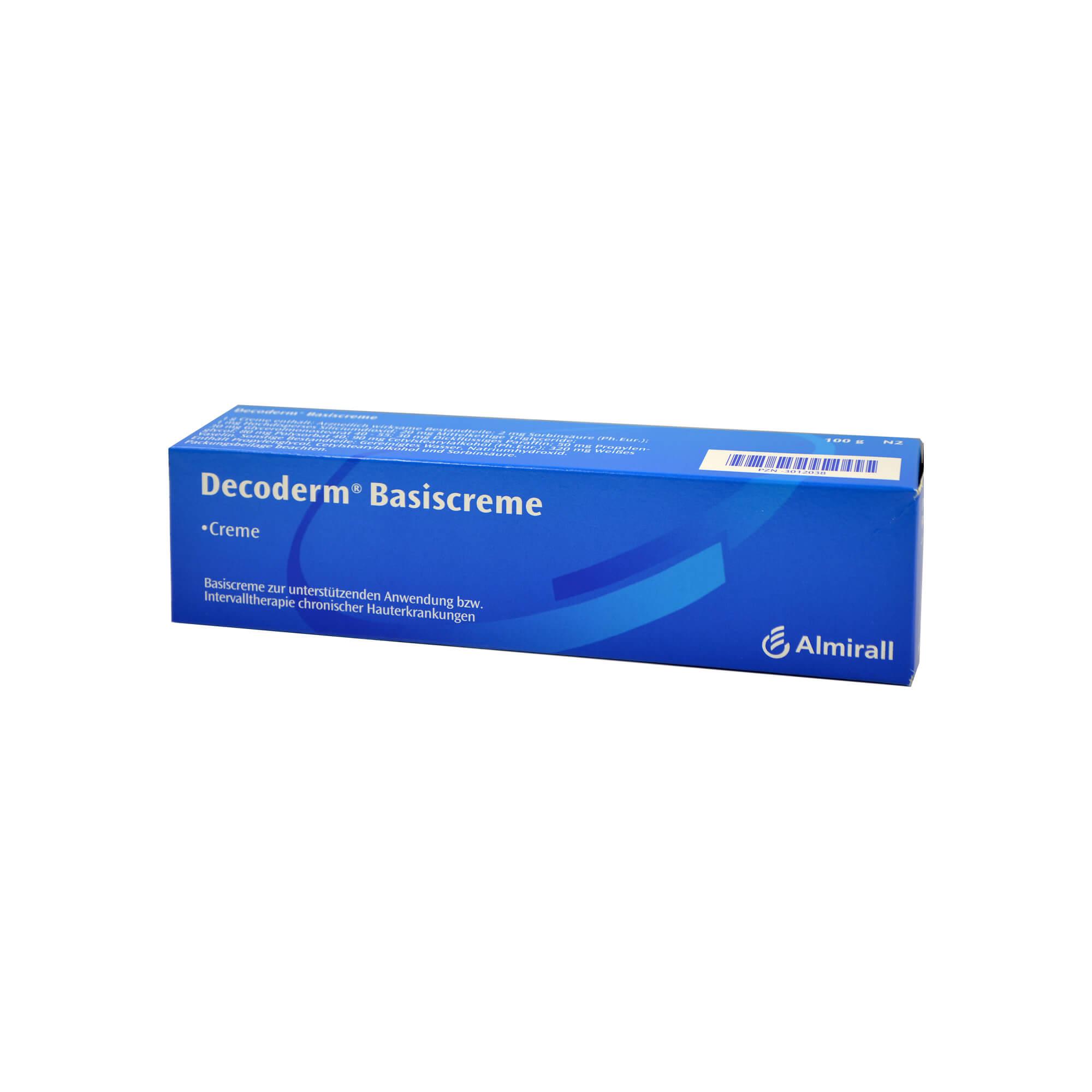 DECODERM BASISCREME, 100 g   Arzneimittel-Datenbank