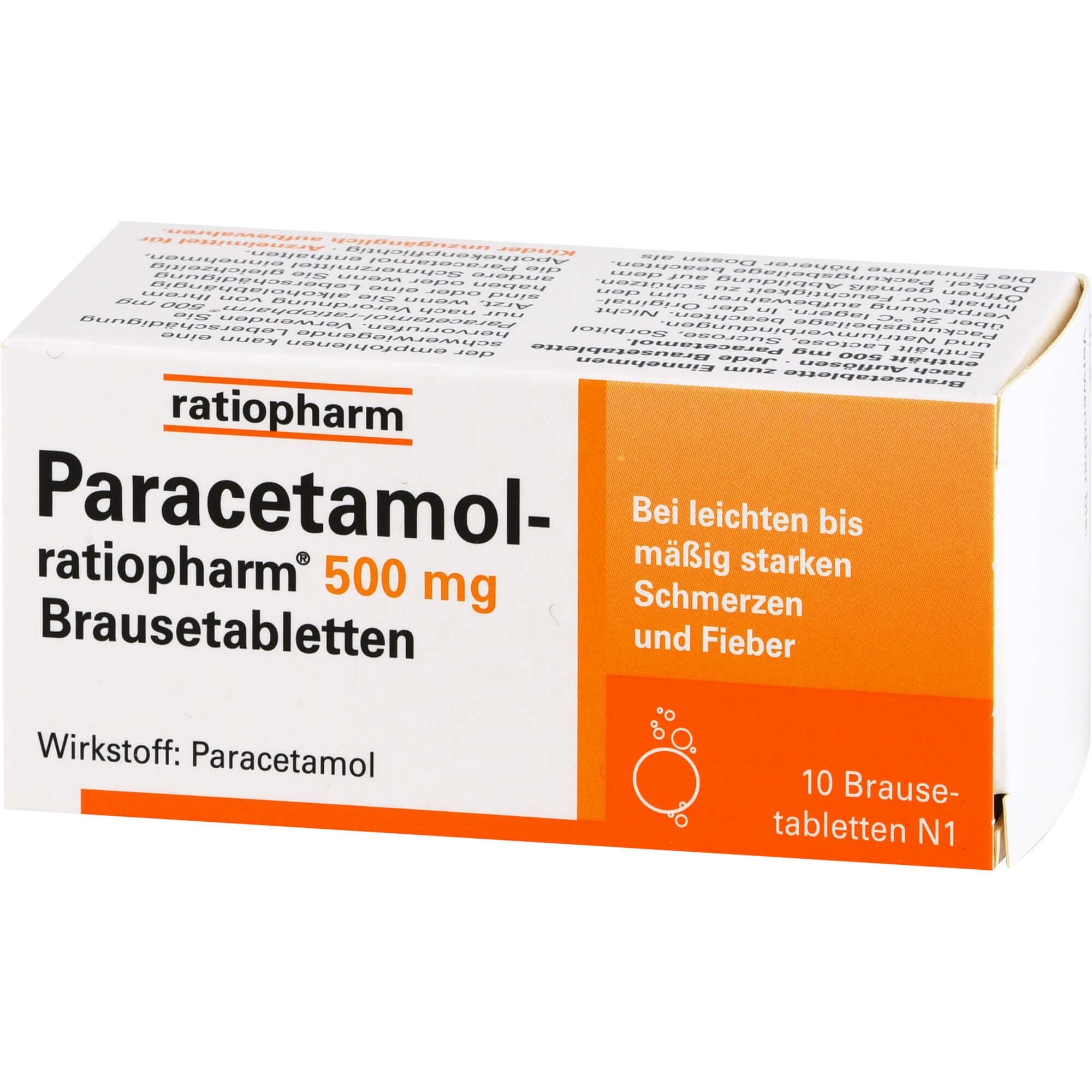 Paracetamol Alkohol Abstand
