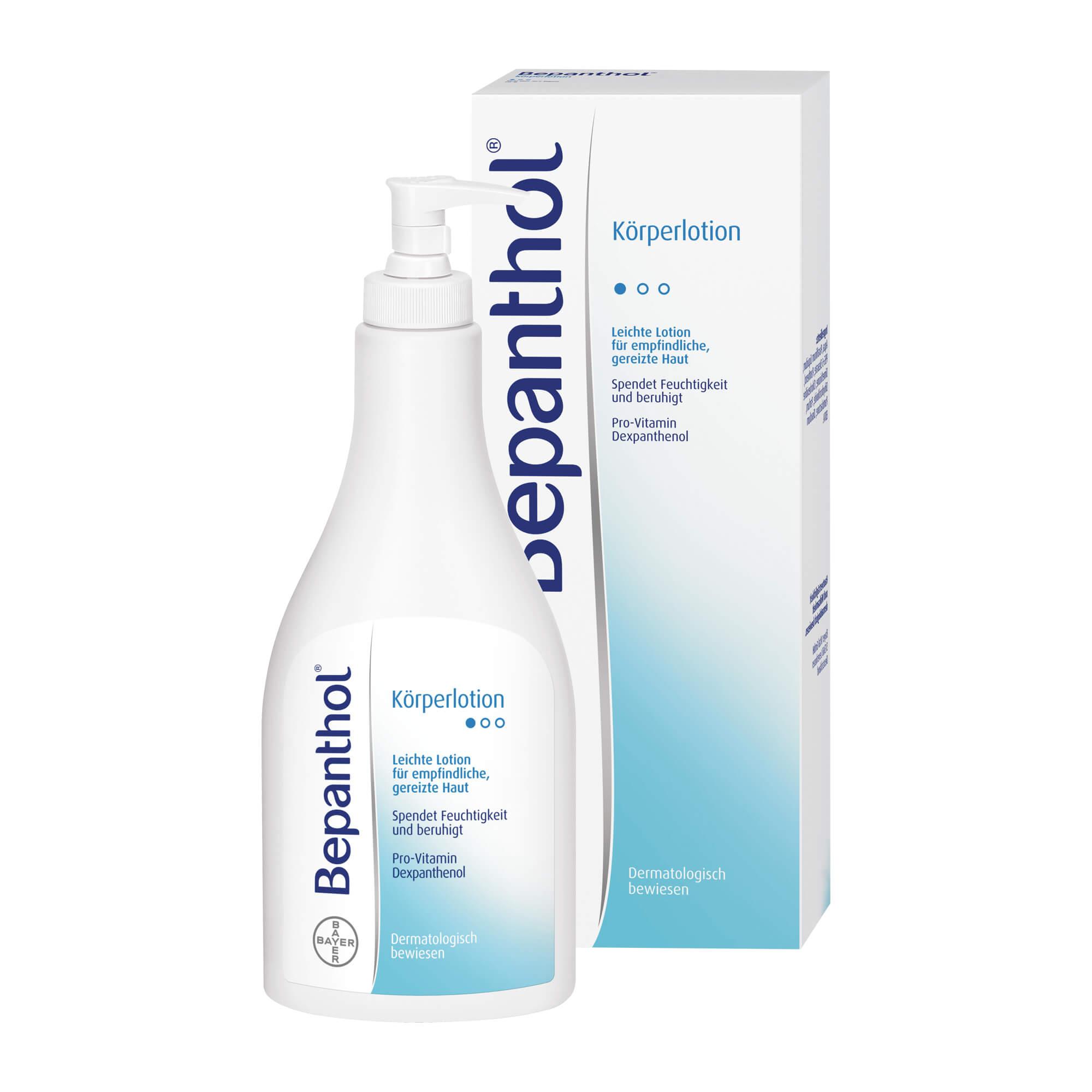 BEPANTHOL KOERPERLOTION SP, 400 ml | Arzneimittel-Datenbank